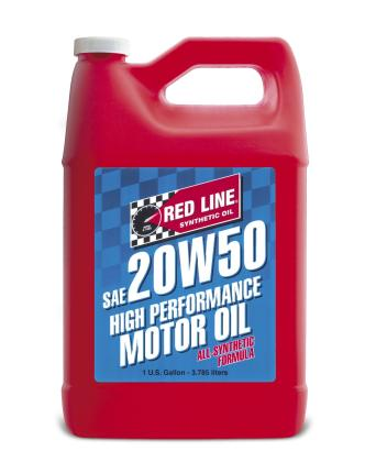 Red Line 20W50 Motor Oil Gallon