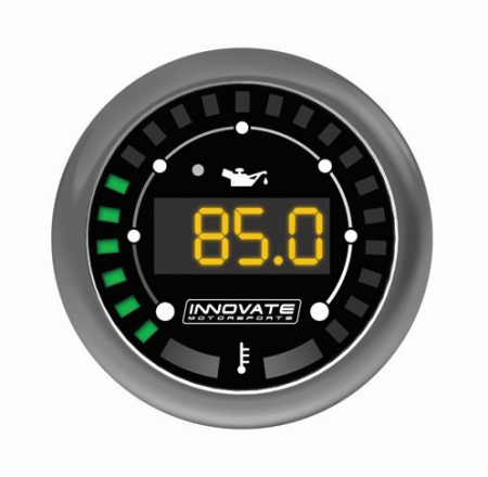 Innovate Motorsports MTX Digital Oil Pressure/Temp Gauge - Universal