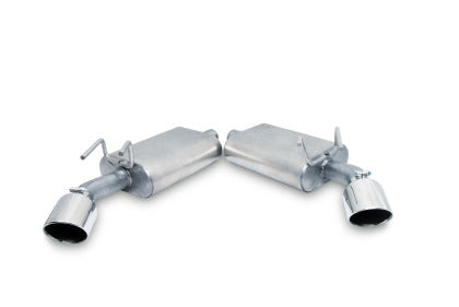 Gibson 10-15 Chevrolet Camaro LS 3.6L 2.25in Axle-Back Dual Exhaust - Stainless