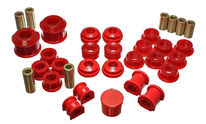 Energy Suspension 02-04 Acura RSX (includes Type S) Red Hyper-Flex Master Bushing Set
