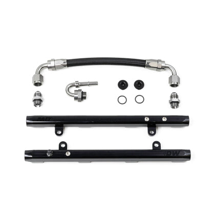 DeatschWerks 11-17 Ford Mustang / F-150 Coyote 5.0 V8 Fuel Rails w/ Crossover