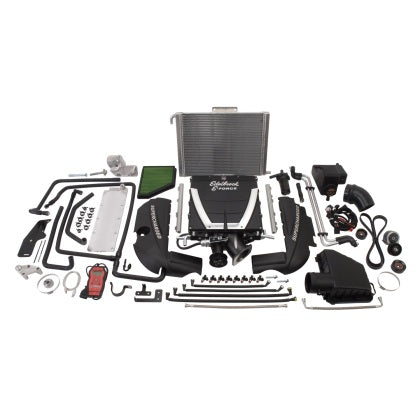 Edelbrock Supercharger Stage 1 - Street Kit 2010-2014 Chevrolet Camaro 6 2L Automatic Low Profile