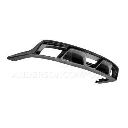 Anderson Composites 15-20 Ford Mustang R-Style Rear Valance (for Quad Tip Exhaust) - GUMOTORSPORT