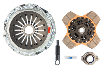 Exedy 2008-2015 Mitsubishi Lancer Evolution GSR L4 Stage 2 Cerametallic Clutch Thick Disc