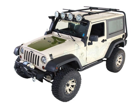Rugged Ridge Roof Rack 07-18 Jeep 2-Door Jeep Wrangler (Sherpa)