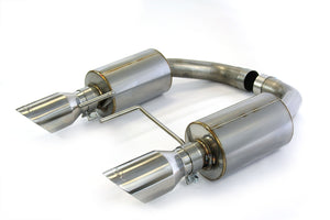 Steeda Axle Back Exhaust System - Ford Mustang GT 2015-2017
