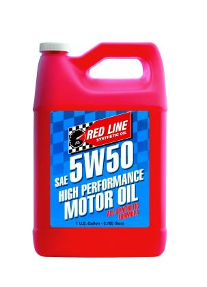Red Line 5W50 Motor Oil - Gallon