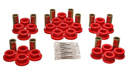 Energy Suspension 87-92 Toyota Supra Red Rear Control Arm Bushing Set