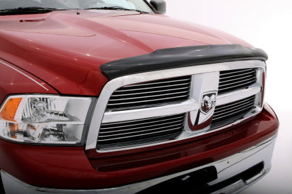 AVS 09-18 Dodge RAM 1500 (Excl. Rebel Models) Bugflector Medium Profile Hood Shield - Smoke
