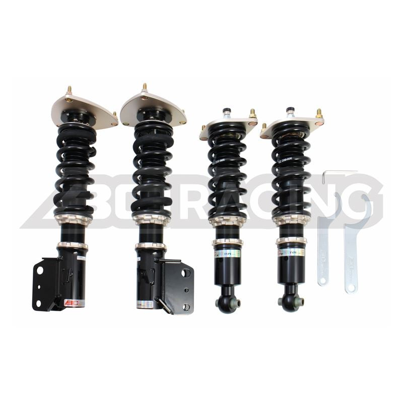 BC Racing BR Coilovers - Subaru STI Sedan 2011-2014
