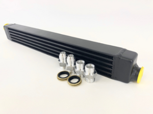 CSF 82-94 BMW 3 Series (E30) High Performance Oil Cooler w/-10AN Male & OEM Fittings
