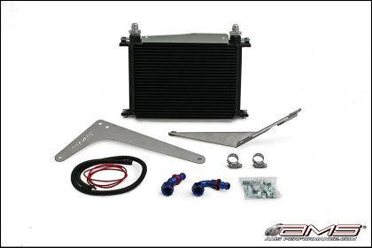 AMS Performance 08-15 Mitsubishi EVO X MR/Ralliart SST Transmission Oil Cooler Kit - GUMOTORSPORT