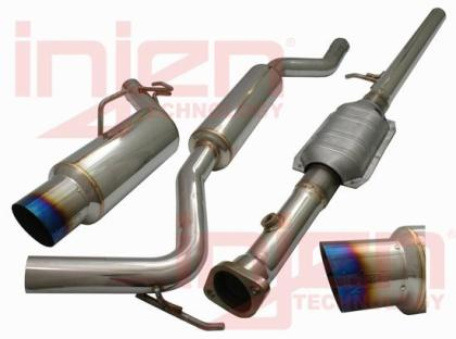 Injen 08-11 Lancer 4cyl 2.0L/2.4L (All Trim Levels) 60mm Cat-Back Exhaust w/ Titanium Tip