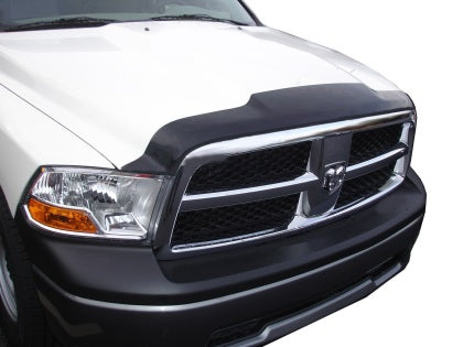 AVS 02-08 Dodge RAM 1500 Aeroskin Low Profile Acrylic Hood Shield - Smoke