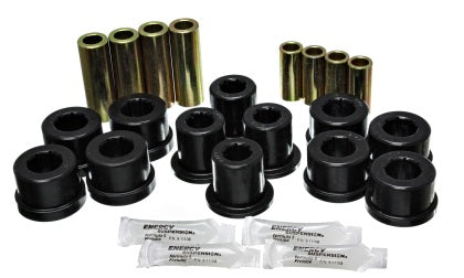 Energy Suspension 87-92 Toyota Supra Black Front Control Arm Bushing Set
