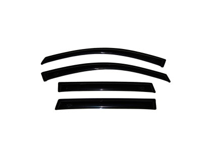 AVS 80-96 Ford F-150 Supercab Ventvisor Outside Mount Window Deflectors 4pc - Smoke