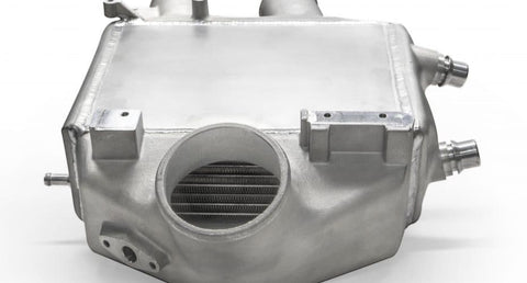 Garrett 2015+ BMW M3/M4 (F80 M3 / F82 F83 M4) Air/Water Performance Intercooler -Silver