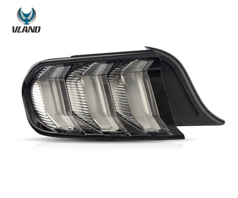 Vland Tailights Mustang Euro Style Clear - GUMOTORSPORT