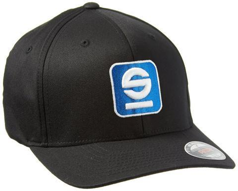 Sparco Hat Icon Black Large/XLarge FlexFit Tuning
