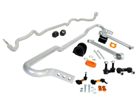 Whiteline Front and Rear Sway Bar Kit w/Endlinks - Subaru WRX 2015+
