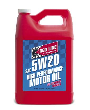 Red Line 5W20 Motor Oil Gallon