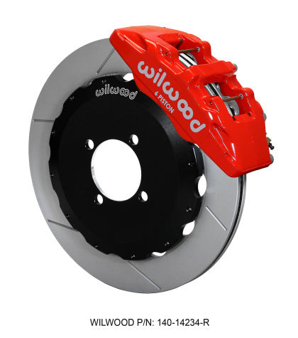 Wilwood Dynapro 6 Front Hat Kit 11.00in GT Rotor 95-05 Miata