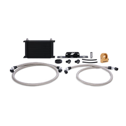 Mishimoto 10-15 Chevrolet Camaro SS Thermostatic Oil Cooler Kit - Black