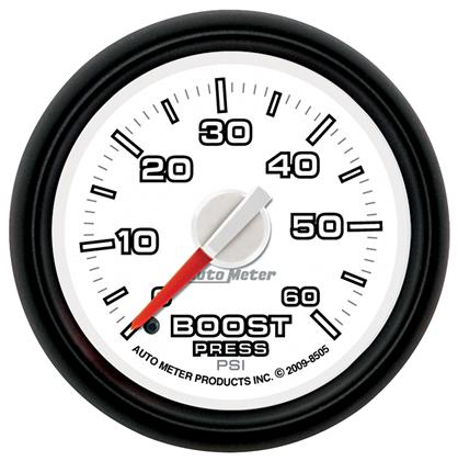 Autometer Factory Match 52.4mm Mechanical 0-60 PSI Boost Gauge