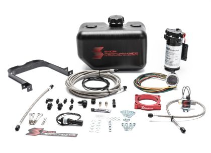 Snow Performance 11-17 Mustang Stg 2 Boost Cooler F/I Water Injection Kit (SS Braid Line & 4AN)