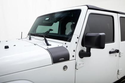 Bushwacker 07-18 Jeep Wrangler Trail Armor Cowl Cover - Black