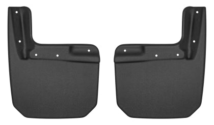 Husky Liners 2018+ Jeep Wrangler Custom-Molded Front Mud Guards