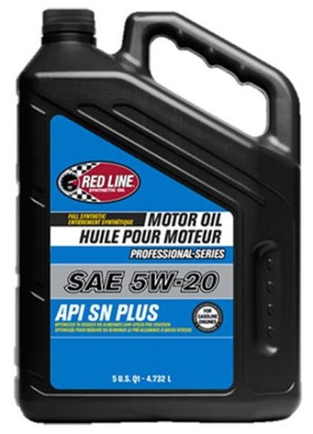 Red Line Pro-Series API SN+ 5W20 Motor Oil - 5 Quarts