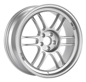 Enkei RPF1 18x8 5x112 35mm Offset 73mm Bore Silver Wheel