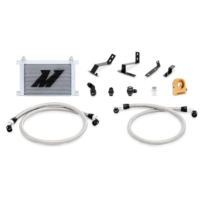 Mishimoto 2016+ Chevy Camaro SS Oil Cooler Kit w/ Thermostat - Silver
