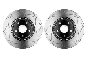 DBA 5000 Series T-Slot Slotted Rotor Pair Front - Subaru Models (inc. 2002-2014 WRX)