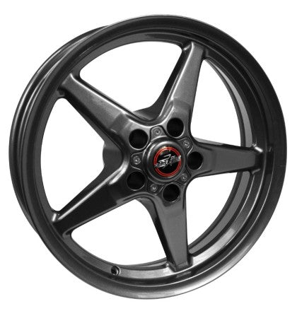 Race Star 92 Drag Star 17x10.50 5x4.50bc 7.63bs Direct Drill Metallic Gray Wheel
