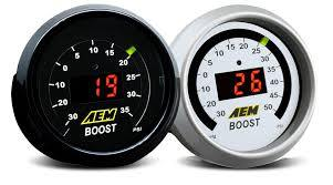 AEM Boost Gauge (30-4406) - GUMOTORSPORT