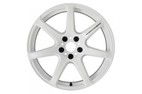 Work Wheels Emotion T7R Middle Concave 18x8.5 +38 5x114.3 White