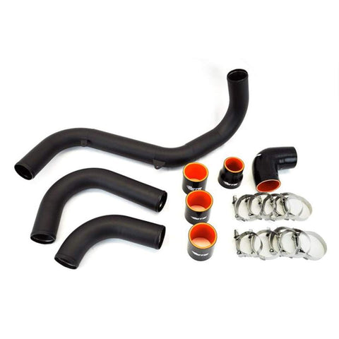 ETS Intercooler Piping Wrinkle Black - Ford Focus RS 2016 - 2018