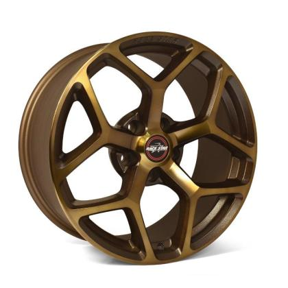 Race Star 95 Recluse 17x10.5 5x4.50bc 7.63bs Bronze Wheel