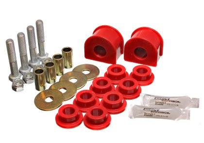 Energy Suspension 99-04 Ford F-150 Lightning 2WD Red Rear Sway Bar Bushing Set (Inc End Links)