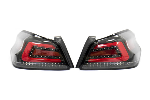 SubiSpeed USDM TR Style Sequential Tail Lights - Subaru WRX / STI 2015+ (CBR)