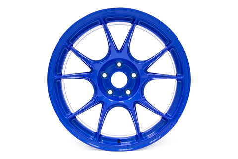 Ambit Roto-Forged FF2 18x9.5 +38 5x114.3 Plasma Blue Wheel - Universal