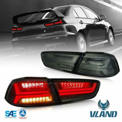 Vland Tailight Smoked Lens Sequential Evo/Lancer - GUMOTORSPORT