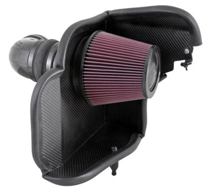 K&N 12-15 Chevy Camaro ZL1 6.2L V8 Aircharger Performance Intake