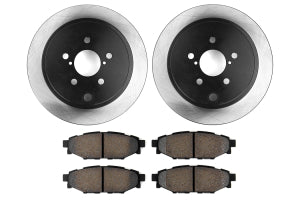 Stoptech Preferred Axle Pack Rear - Subaru Models (Inc. 2008-2014 WRX / 2009-2013 Forecter XT)