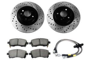 Stoptech Sport Kit Drilled Front - Subaru WRX 2002-2003