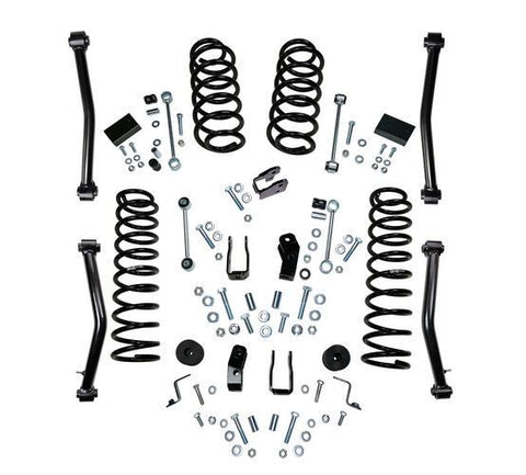 Superlift 18-20 Jeep Wrangler JL Unlimited 4in Lift Kit Including Rubicon w/ Shock Extensions