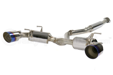 MXP Comp RS Cat Back Exhaust Blue Burnt Tips - Scion FR-S 2013-2016 / Subaru BRZ 2013+ / Toyota 86 2017+