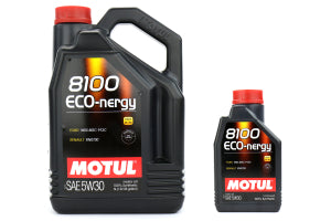 Motul 6L 5w30 Eco-nergy Engine Oil (Synthetic) - GUMOTORSPORT